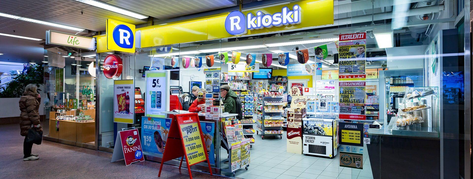 R Kioski Kaarina