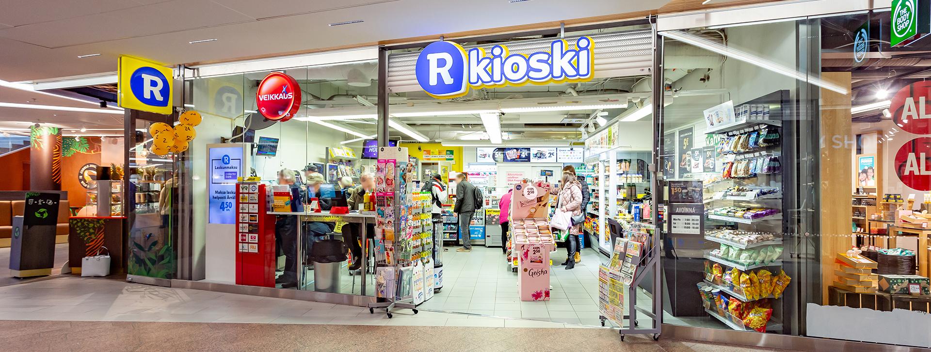 R Kioski Kivistö