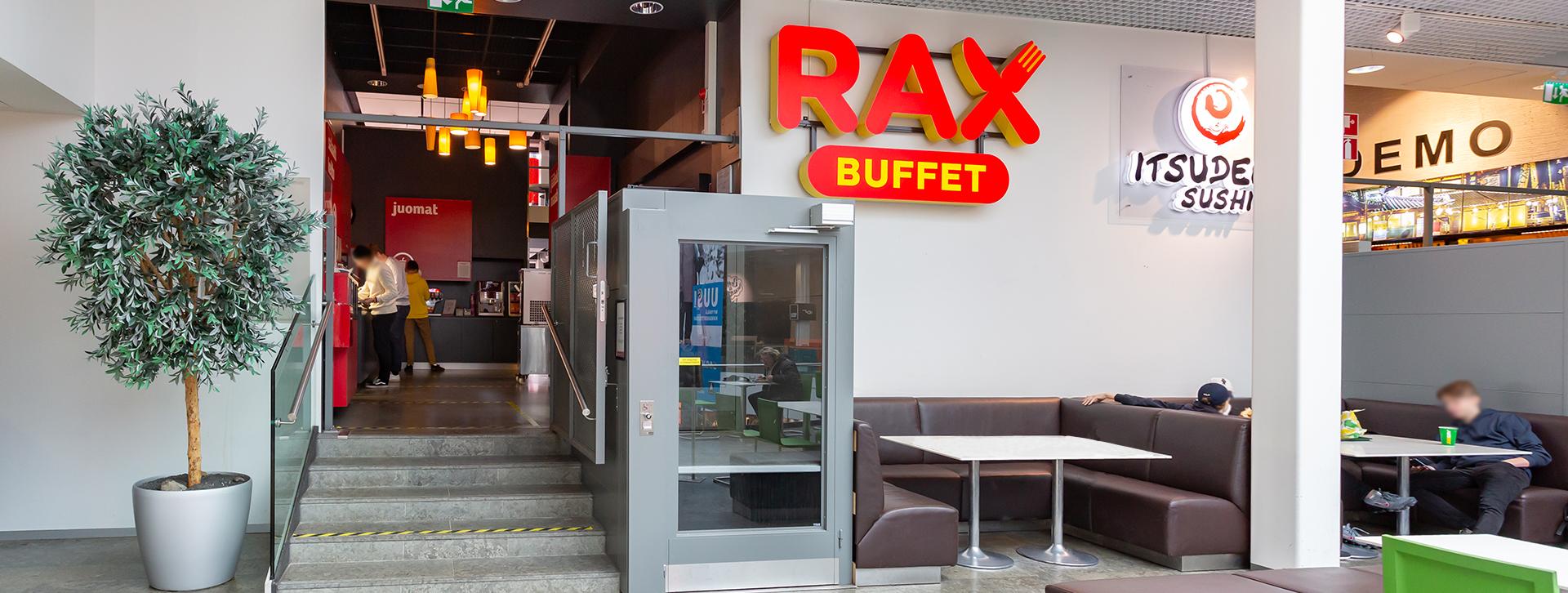 RAX Pizzabuffet | Hansakortteli