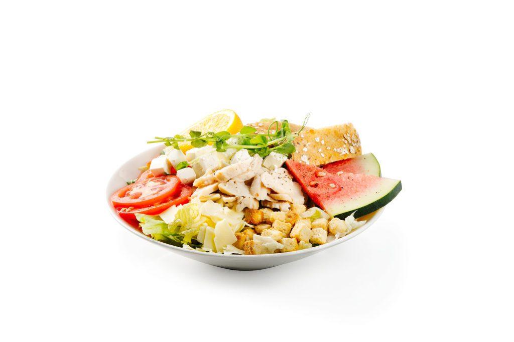 Broiler-Fetasalaatti