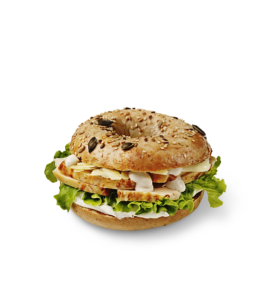Chicken Ceasar Bagel