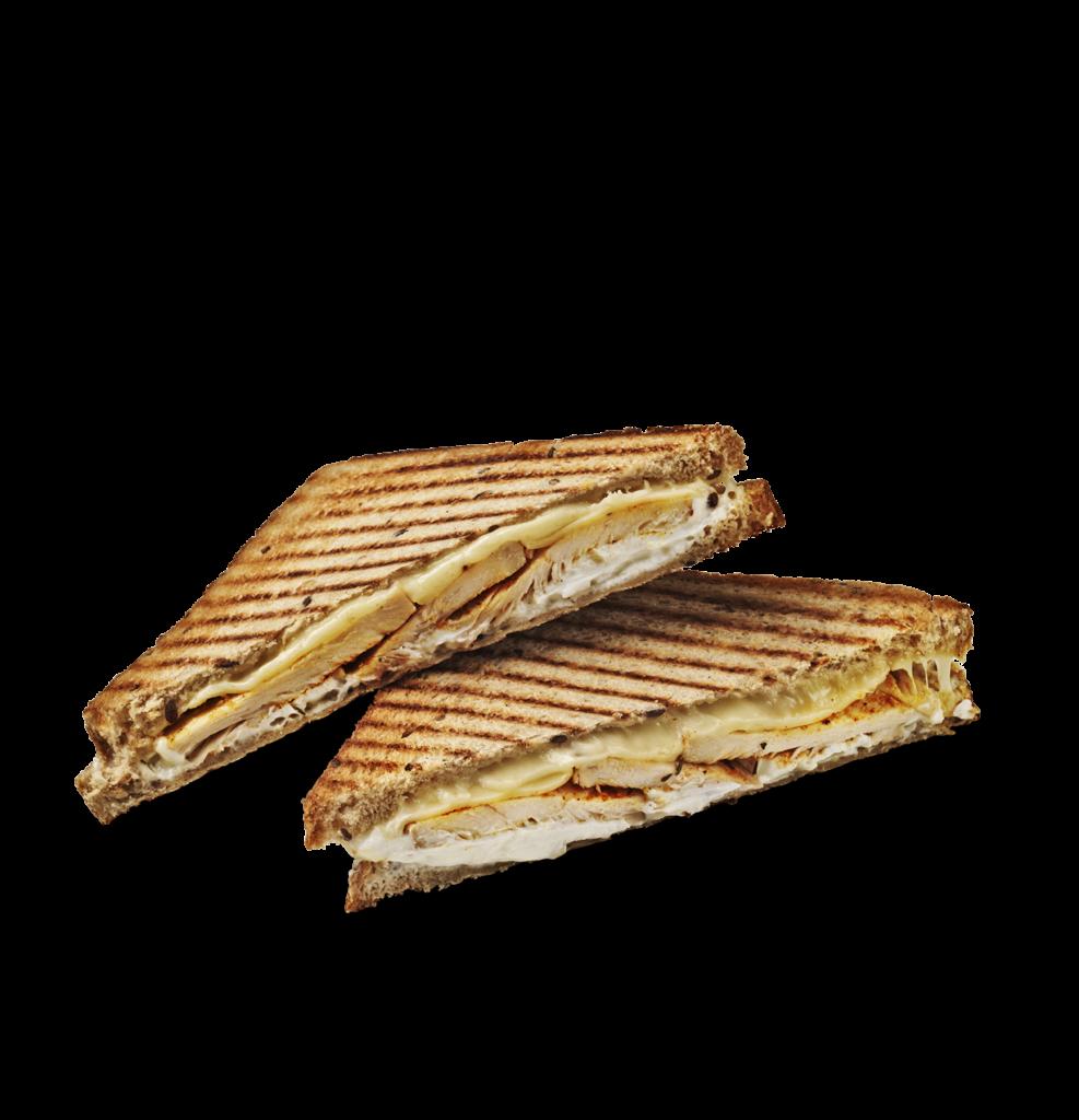 Chicken & Goat Cheese Toast