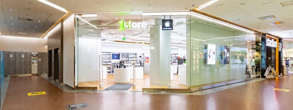 Hansakortteli Kauppakeskuksessa On Noin 130 Liiketta Jokaiseen