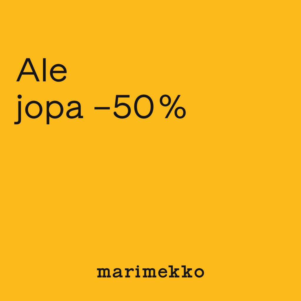 Ale Marimekko Text 50 1080x1080 px